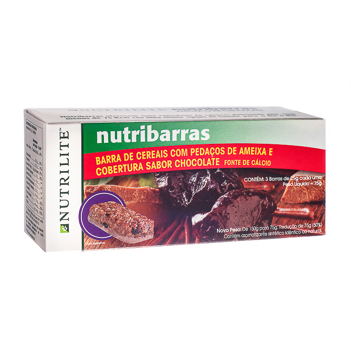 NUTRIBARRAS AMEIXA COM CHOCOLATE