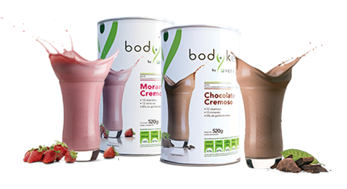 Shake Morango e Chocolate - BodyKey