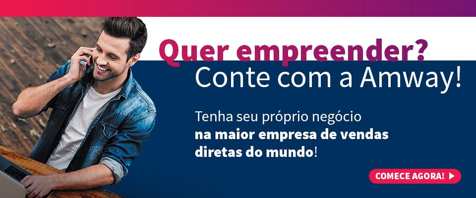 Comece o seu próprio negócio em nosso site | AMWAY DO BRASIL